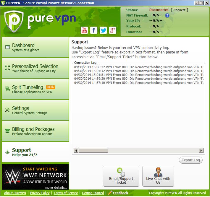 PureVPN Client